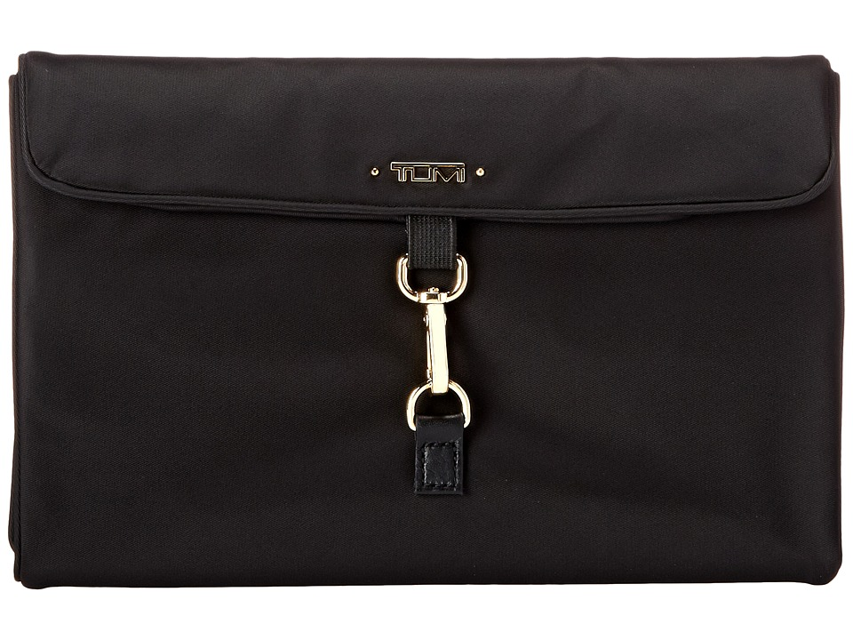 TUMI Voyageur - Jewelry Travel Roll (Black) Travel Pouch