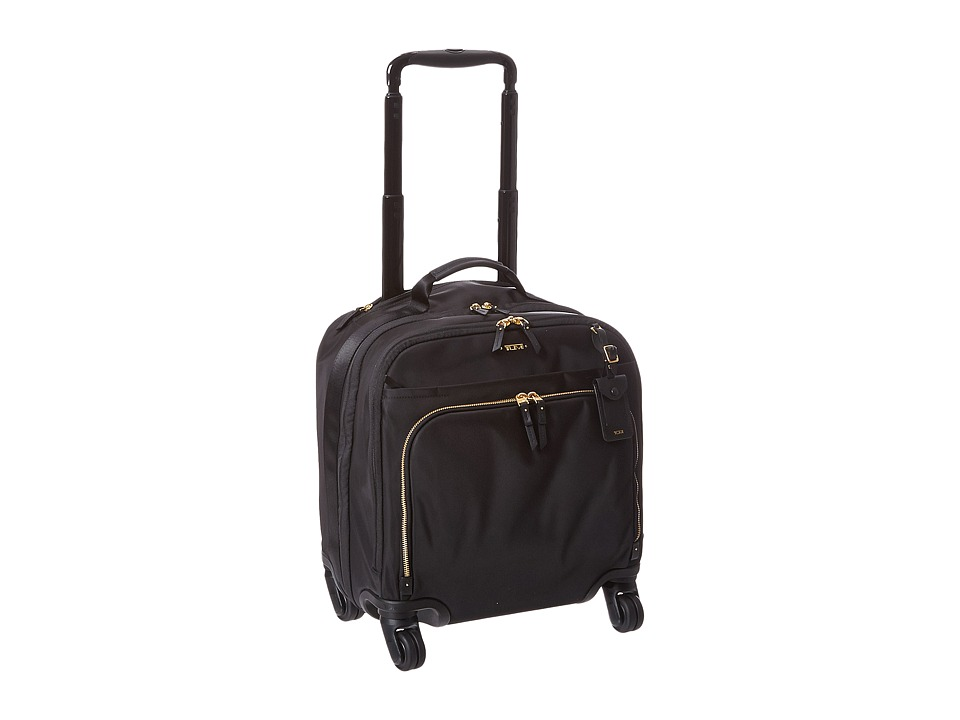 TUMI Voyageur - Oslo 4 Wheel Compact Carry-On (Black/Gold...
