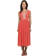 Free People - Meadows Embroidered Midi Dress
