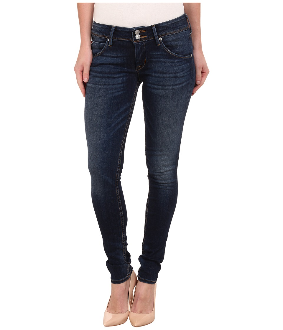 Hudson - Collin Skinny Jeans in Blue Gold