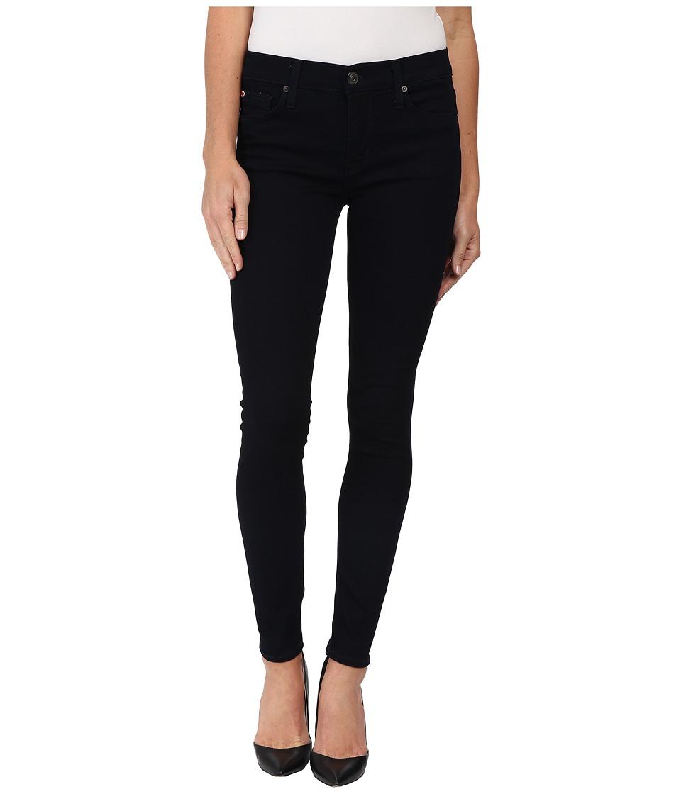 Hudson Nico Mid Rise Super Skinny Jeans in Zerene Zerene Womens Jeans