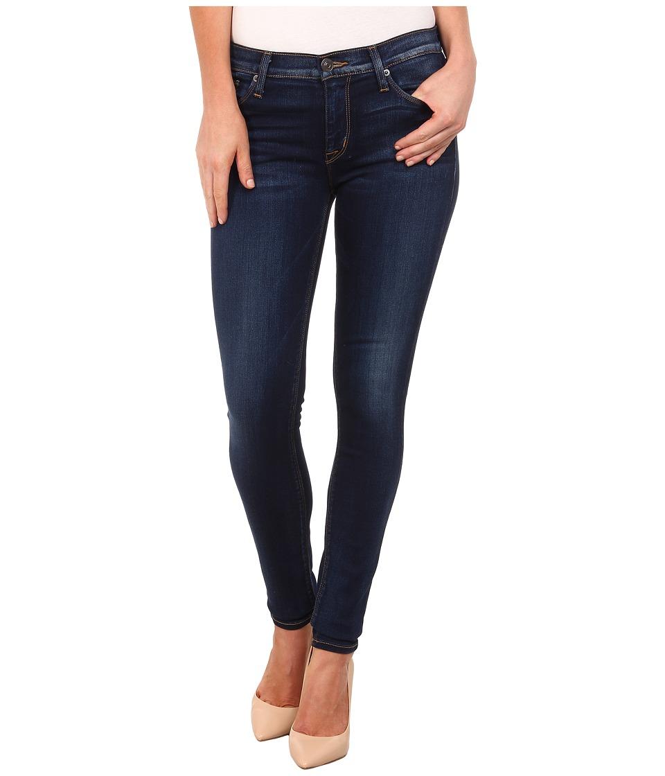 Hudson Nico Mid Rise Super Skinny Jeans in Revelation Revelation Womens Jeans