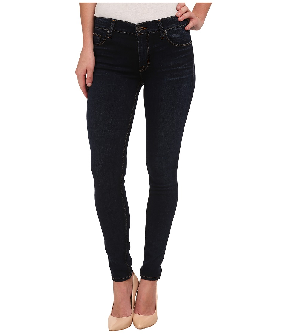 Hudson Nico Mid Rise Super Skinny Jeans in Oracle Oracle Womens Jeans