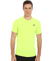 New Balance - Pindot Flux Short Sleeve Top