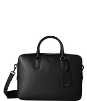Michael Kors - Bryant Pebble Leather Large Briefcase