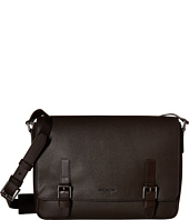 Michael Kors - Bryant Pebble Leather Large Messenger