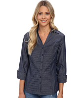 rsvp - Lacey Chambray Button Down Shirt