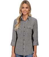 rsvp - Lacey Checkered Button Down Shirt