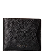 Michael Kors - Harrison Cross Grain Leather Billfold Card Case