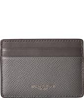 Michael Kors - Harrison Cross Grain Leather Card Case