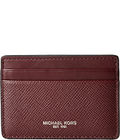 Michael Kors - Harrison Cross Grain Leather Card Case