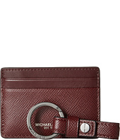 Michael Kors - Box Sets Cross Grain Leather Card Case w/ Key Fob Set