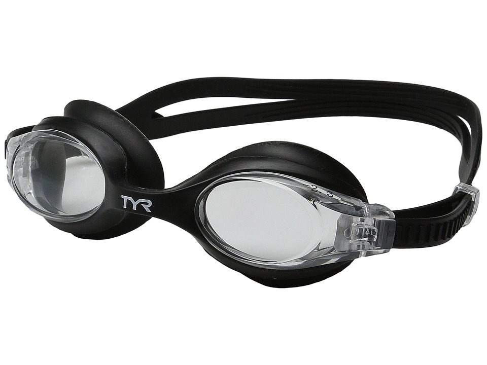 TYR Big Swimple Optical (Clear/Black) Reading Glasses Sunglasses