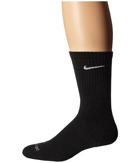 Nike Dri-Fit Cushion Crew 3-Pair Pack - Black/White