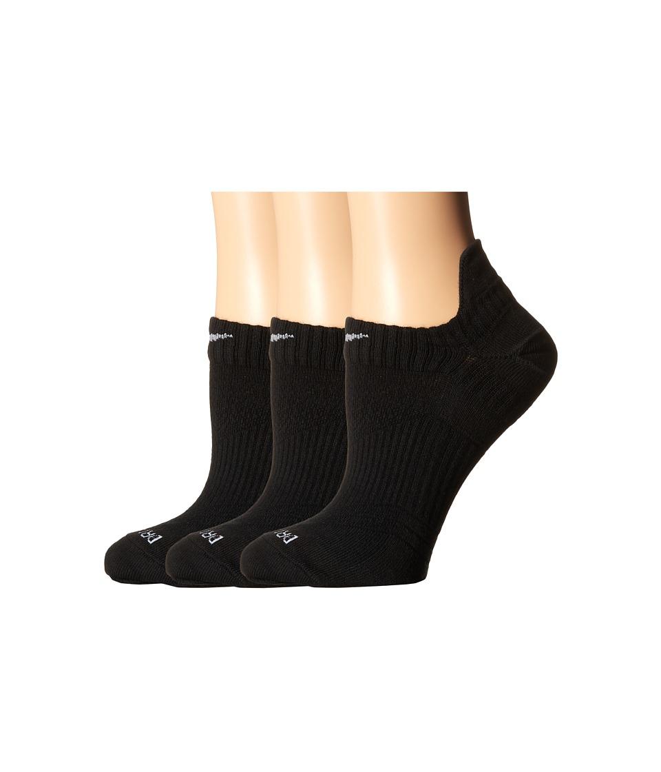 Nike Dri Fit Lightweight No Show 3 Pair Pack Black/Wolf Grey Womens No Show Socks Shoes