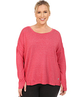 Marika Curves - Plus Size Alexis Studded Long Sleeve Top