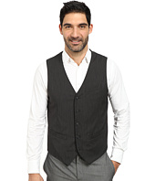 Perry Ellis - Fine Stripe 5-Button Vest
