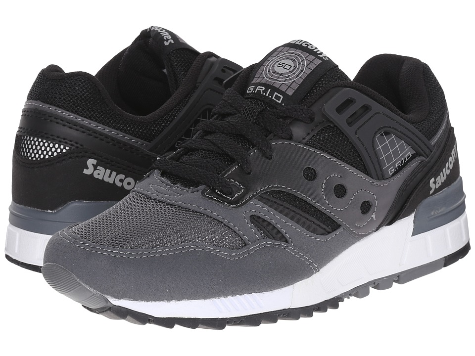 Saucony Originals Grid SD Black/Grey Mens Classic Shoes