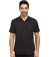 Perry Ellis - Short Sleeve Mini Dot Print Shirt