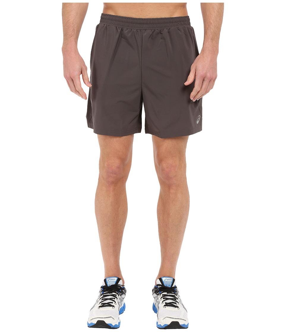 ASICS 2 N 1 Shorts 6 Dark Grey Mens Shorts