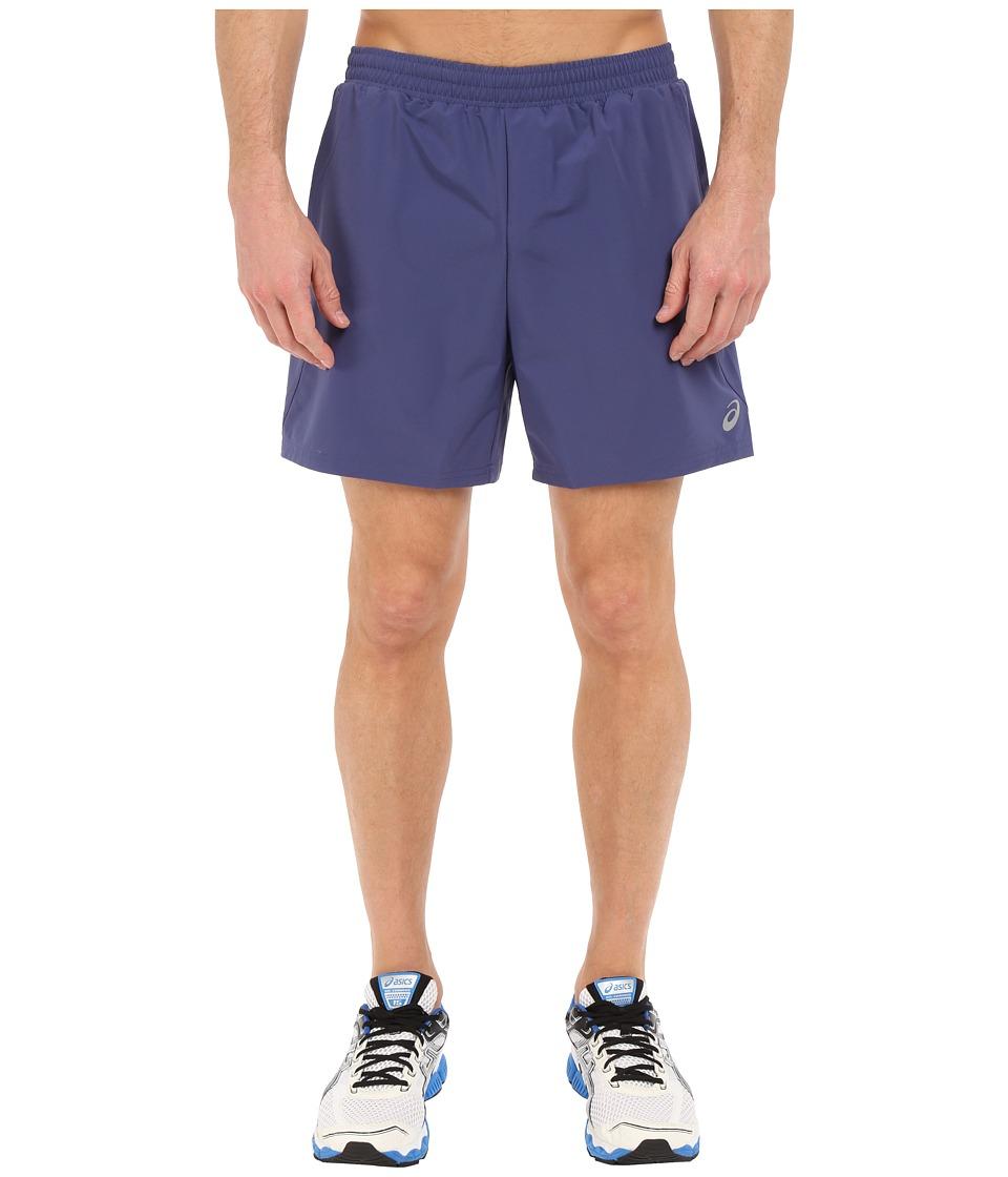ASICS 2 N 1 Shorts 6 Deep Cobalt Mens Shorts