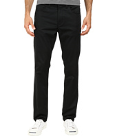 Perry Ellis - Slim Fit Solid Sateen 5-Pocket Pants