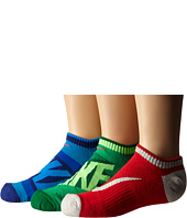 Nike Kids - Graphic Cotton Cushion Low Cut 3-Pair Pack (Toddler/Little Kid/Big Kid)