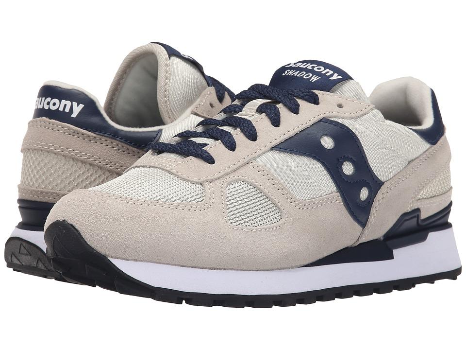Saucony Originals Shadow Original Light Tan/Navy Mens Classic Shoes