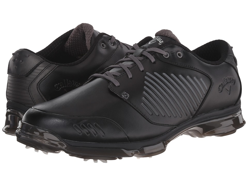 Callaway X Nitro Black/Black Mens Golf Shoes