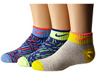 Nike Kids Graphic Lightweight Cotton Low Cut 3-Pair Pack