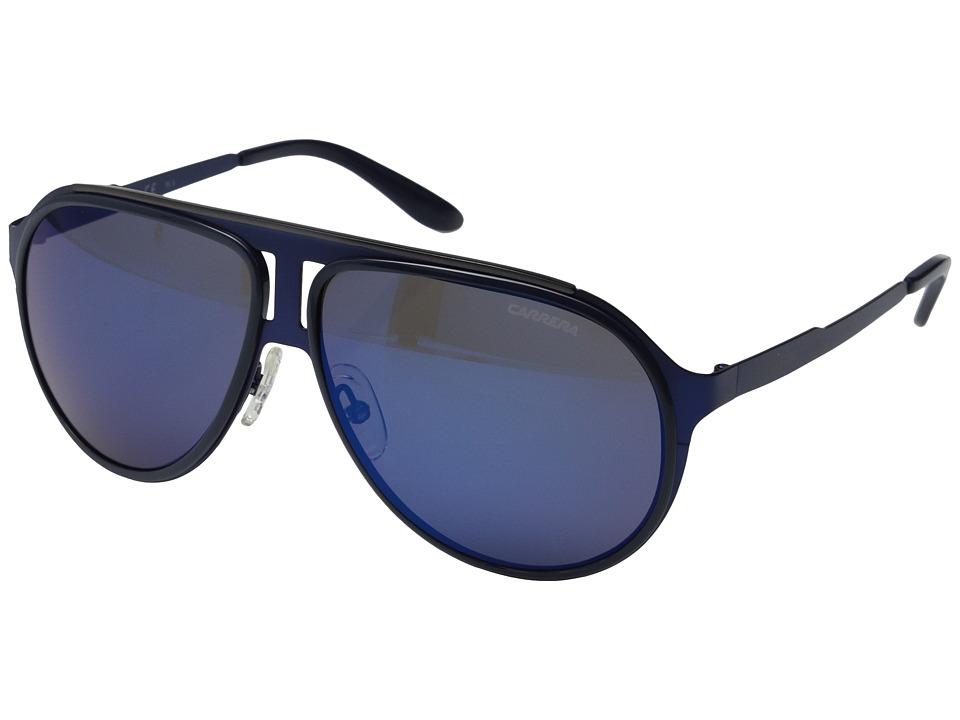 Carrera Carrera 100/S Matte Blue Ruthenium/Blue Sky Mirror Sport Sunglasses