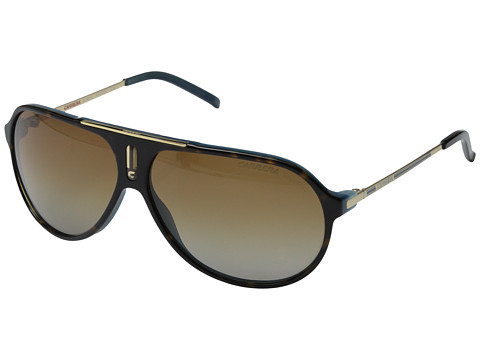 Carrera Carrera Hot/P/S - Havana Blue Gold/Brown Shade Polarized