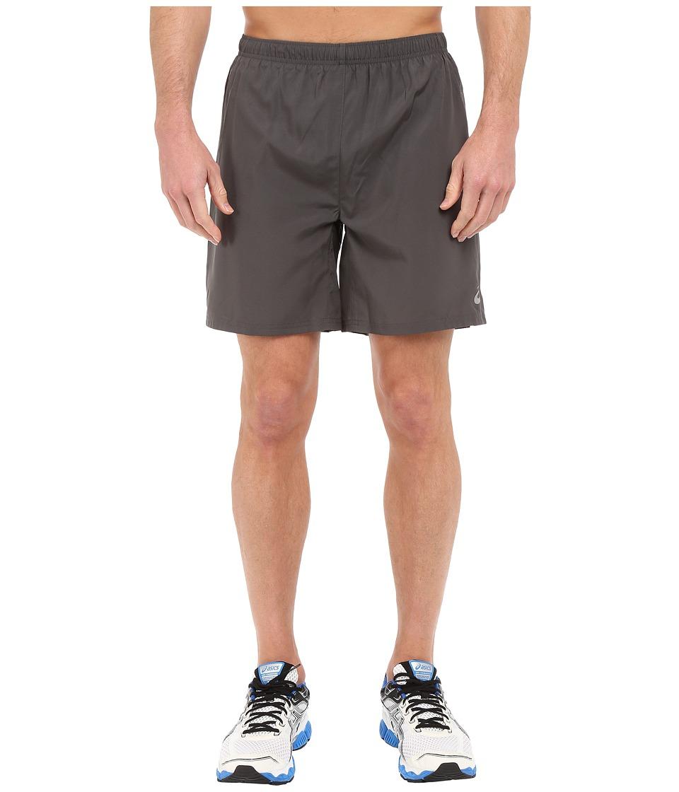 ASICS Woven Short 7 (Dark Grey) Men