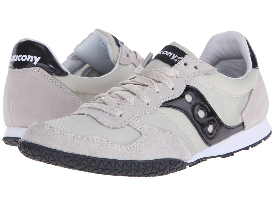 Saucony Originals Bullet Light Tan/Black Mens Classic Shoes