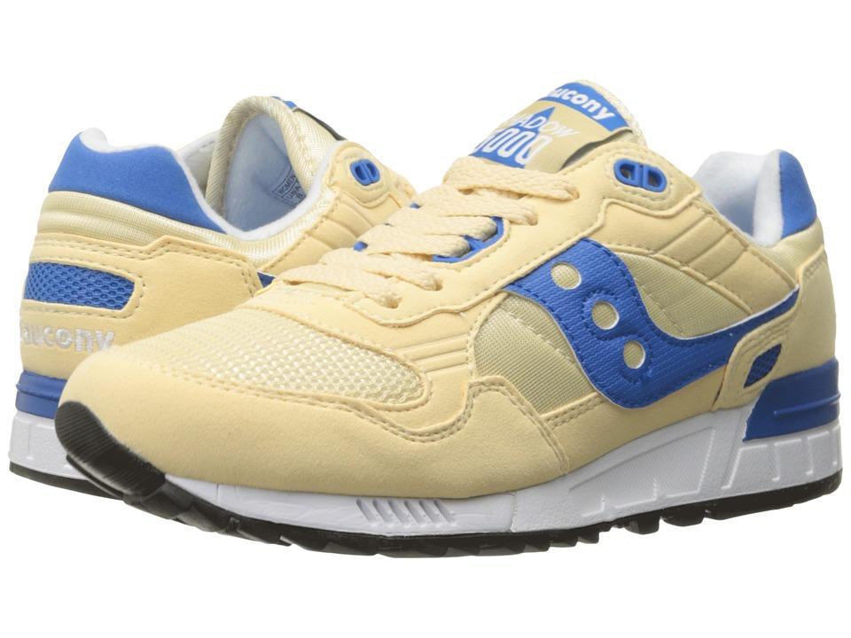 Saucony Originals Shadow 5000 Cream/Blue Womens Classic Shoes
