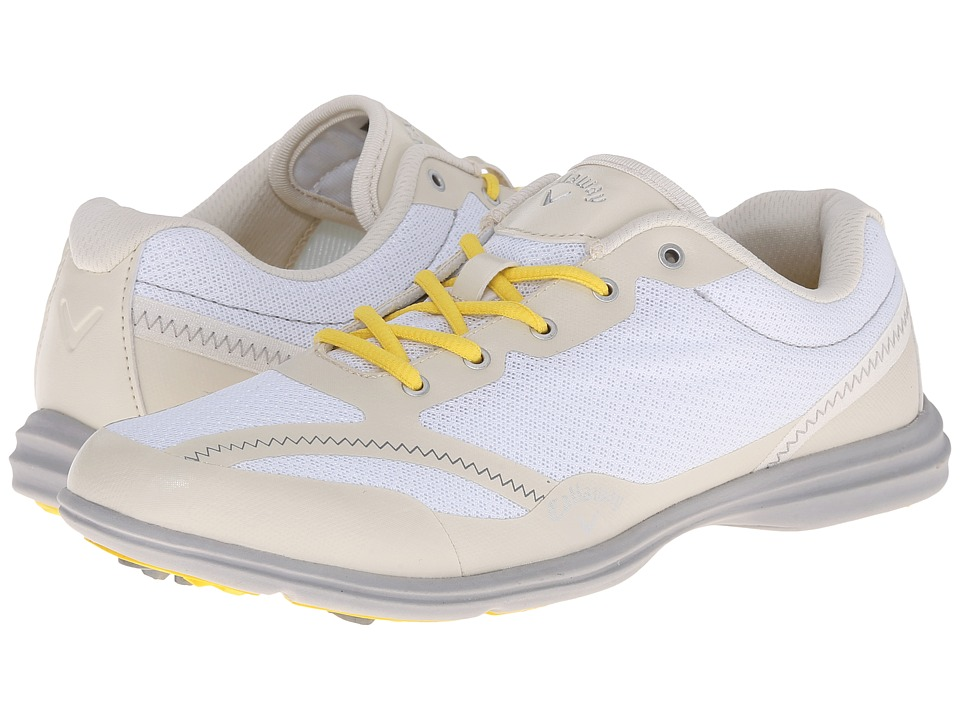 Callaway Solaire White/Bone Womens Golf Shoes