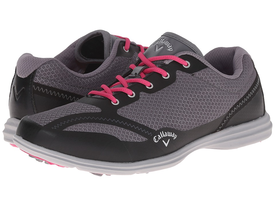 Callaway Solaire Grey/Black Womens Golf Shoes