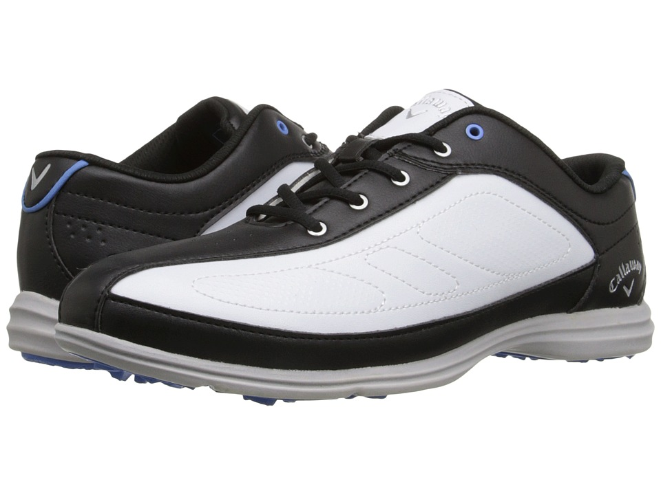 Callaway Cirrus White/Black Womens Golf Shoes