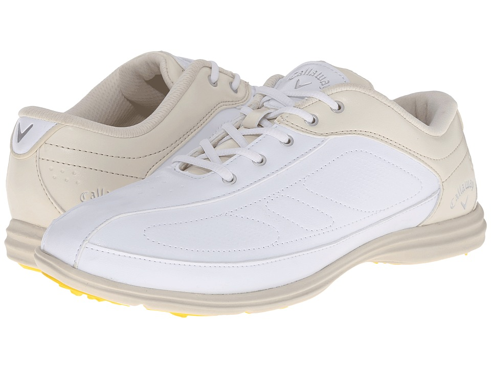 Callaway Cirrus White/Bone Womens Golf Shoes
