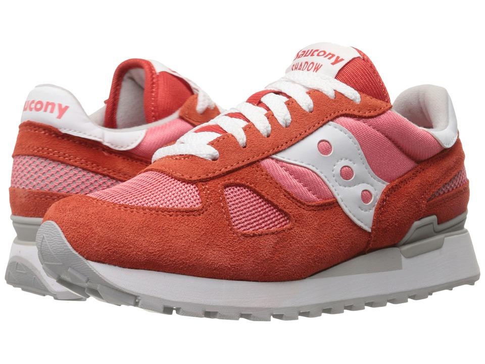 Saucony Originals Shadow Original Red/Coral Womens Classic Shoes