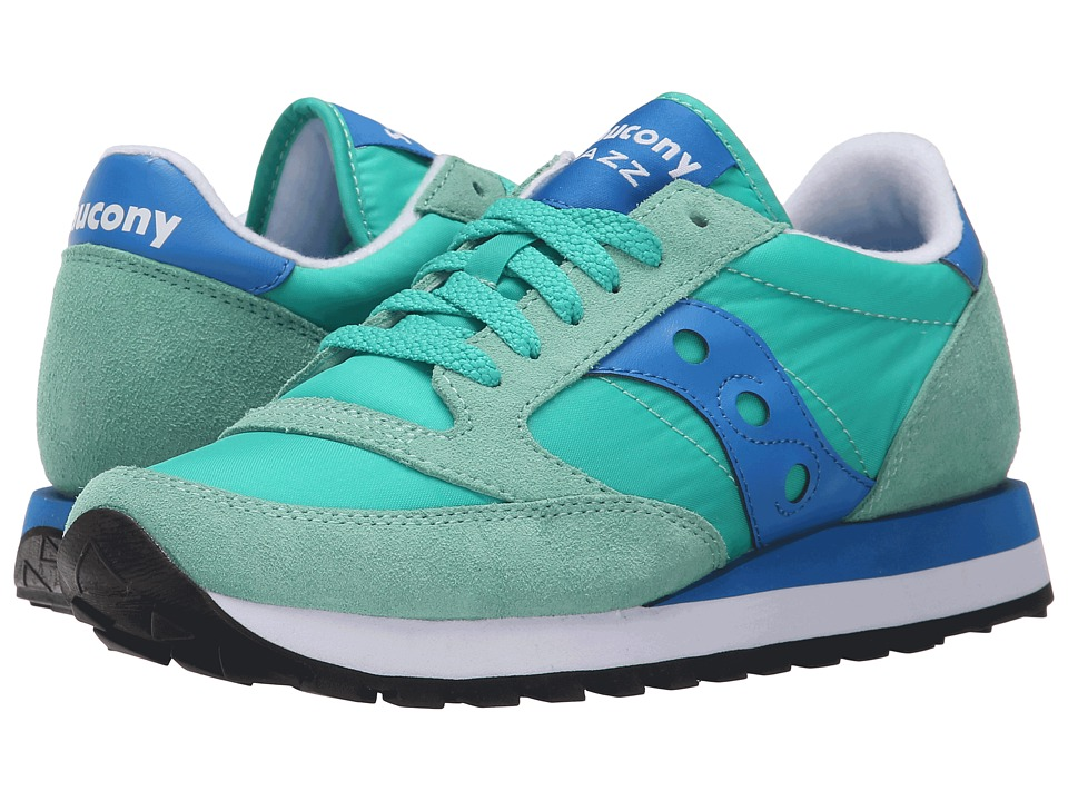 Saucony Originals - Jazz Original (Light Green/Blue) Women