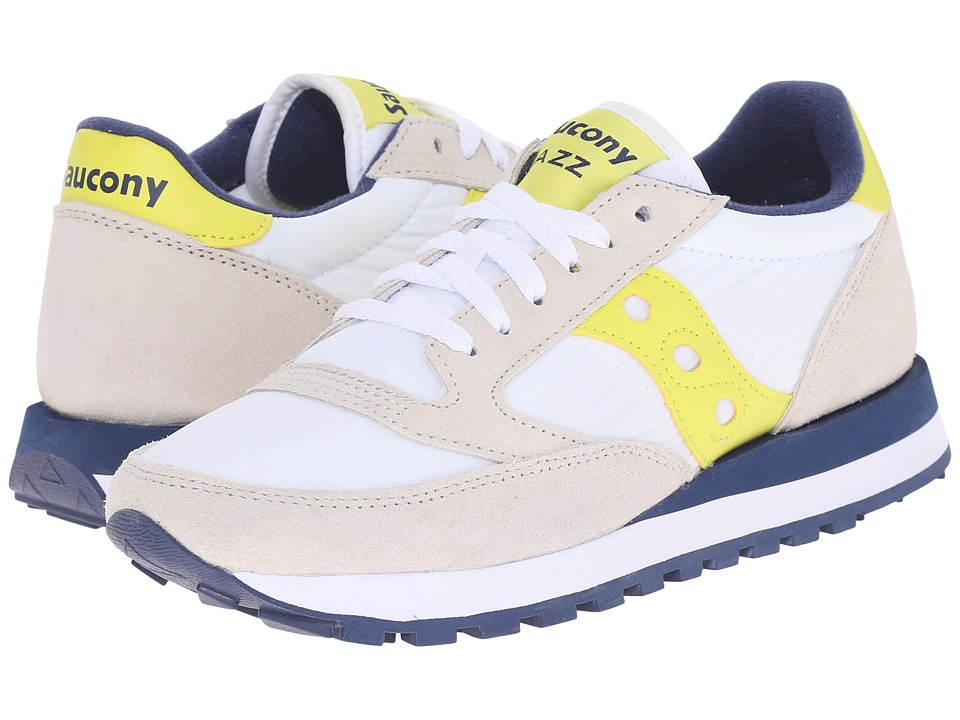 Saucony Originals - Jazz Original (White/Yellow) Women