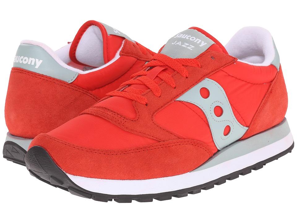 Saucony Originals - Jazz Original (Bright Red) Womens Classic Shoes