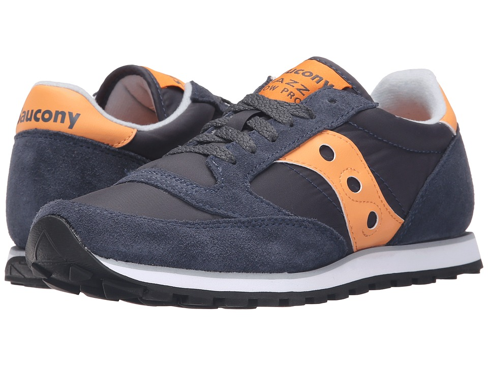 Saucony Originals - Jazz Low Pro (Dark Navy/Melon) Women