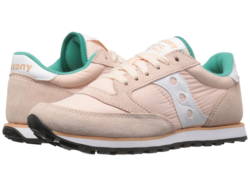 Saucony Originals Jazz Low Pro (Light Peach) Women's