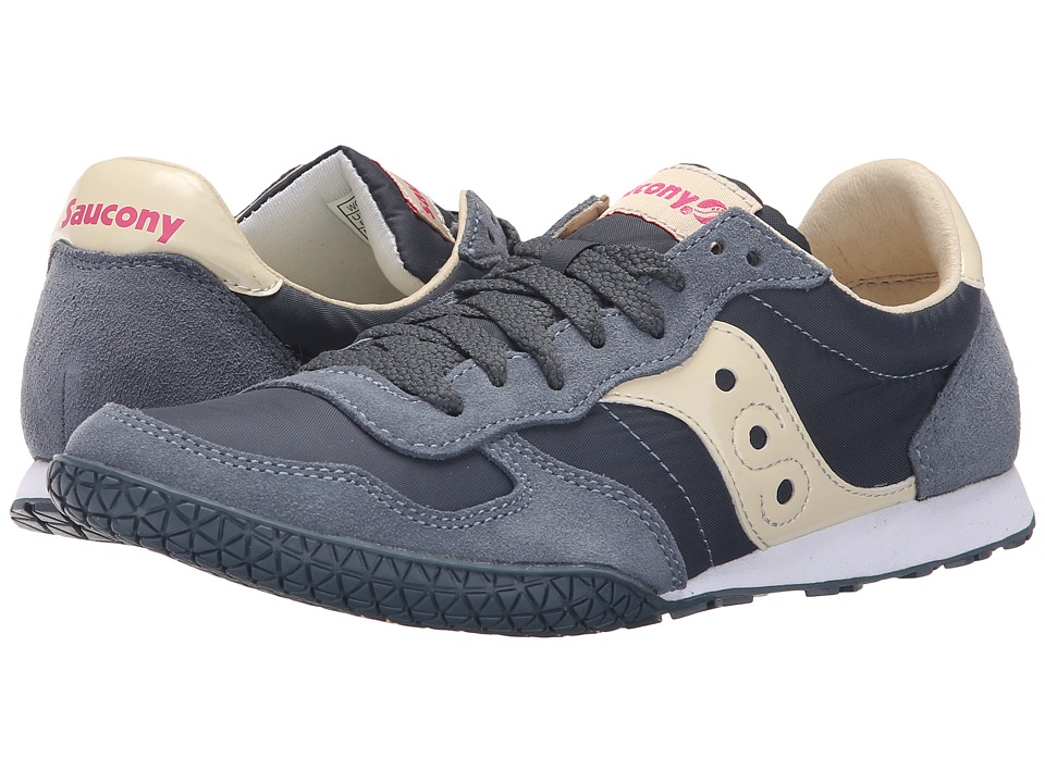 Saucony Originals - Bullet (Slate/Cream) Womens Classic Shoes