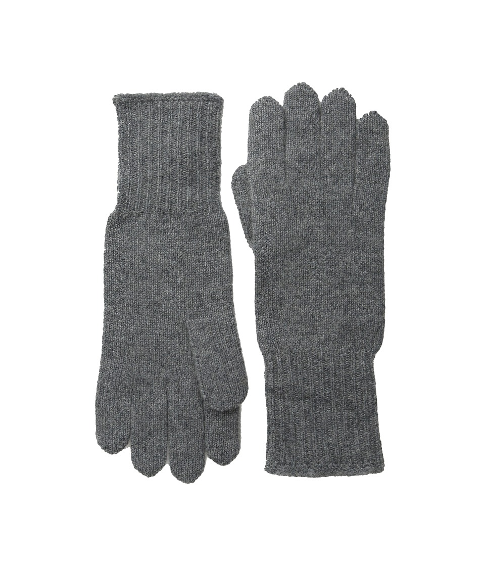 Hat Attack Cashmere Glove Charcoal 1 Dress Gloves