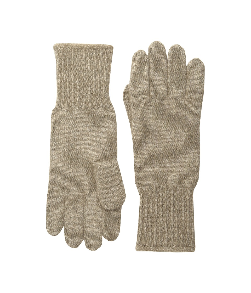 Hat Attack Cashmere Glove Taupe Dress Gloves