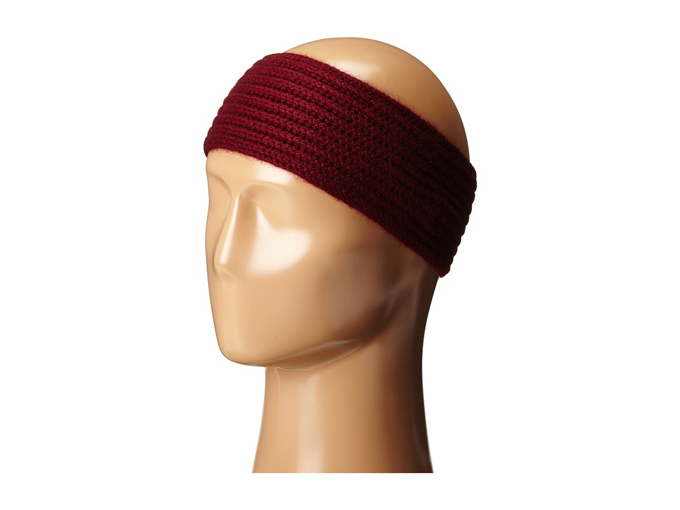 Hat Attack - Cashmere Headband (Burgundy) Headband