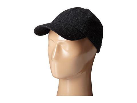 Hat Attack Shetland Cap - Black Heather